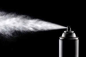 Pelseal's viton formulated fluoroelastomer aerosol coating